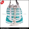 Large Size Lady Bucket Bag/Jelly Color Drawstring Backpack/White PU Women Handbags