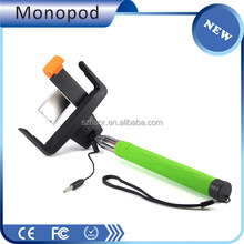 Designer factory direct wired channel selfie stick