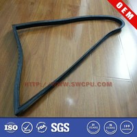Durable auto window flocking rubber seal strips