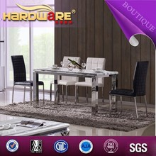 Morden style marble home table high quality material dinning furniture