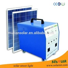 Alibaba China 100WP Solar Panel 500W Off-Grid for Home Solar Generator Solar Energi System