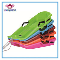 S Size Plastic PE Outdoor Pulling Snow/Grass/Sand Sledge for Children
