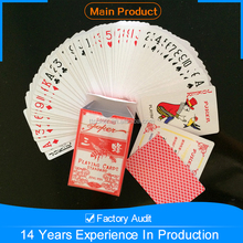 High quality products, cheapest good 555 playing cards with stylish designs