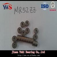 High presision 2*5*2.5mm MR52ZZ ball bearing