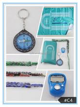 Islamic muslim portable pocket waterproof prayer mat with compass