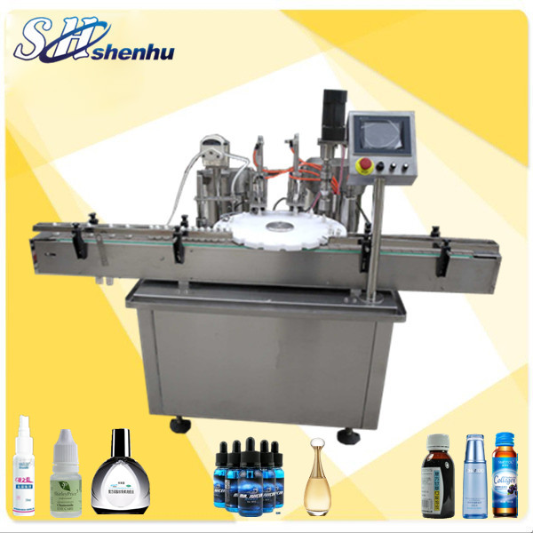 mini bottle filling machine