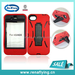 China Mobile Phone Accessory Armor Case for iPhone 4G