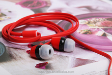 Colorful Earphones For iPhone 5, for iphone 5 earphone headset, China manufacturer