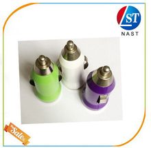 Best quality promotional usb car charger rubber