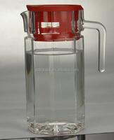 1.5 litre glass jug 1.5l glass water jug with lid