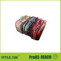 Ladies unqiue pattern double zipper convenient wash bag set