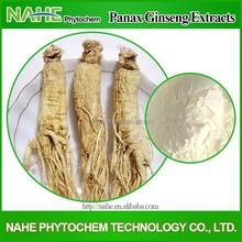 Factory Supply 100% Natural Ginseng Extract 80%Ginsenosides, Panax Ginseng Extract, Ginseng Root Extract powder