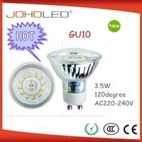 Christmas decoration lights led gu10 3.5w 120 degree gu10 lamp