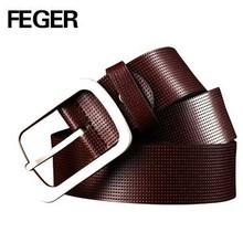 FEGER 2015 fashion genuine leather man belt waist belt