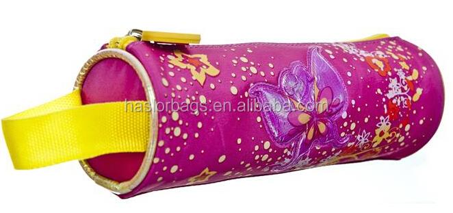 Roulement Simple mignon sac de crayon pour les filles