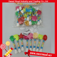 Colorful Mini Classic Whistle Candy Toy