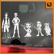 Solvent printing Vinyl PVC Sticker, car design sticker, car sticker decals