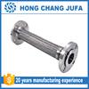 Glavanized flange 1 2 inch stainless steel braided metal hose/flexible pipe