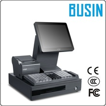 BUSIN POS KD2-M7+ VTOP restaurant pos terminal with printer of 80mm & money drawer