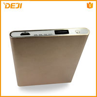 GOLD 3000mah polymer small size dc5v/1a mobile phone power bank