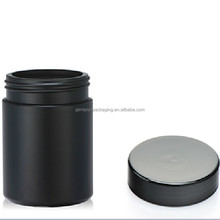 8 OZ/250ml HDPE platic uv glossy nutrition supplement container