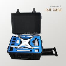 Hard waterproof shockproof UAV case for DJI phantom 3