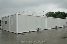 Steel frame prefab container houses,container homes used as hotel ,