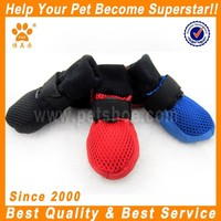 JML Hot Selling Leisure Pet Accessories Dog Boots Soft Sole Mesh Dog Shoes