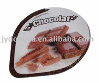 Aluminum foil lids coated with pp/ps film used for yogurt,juice