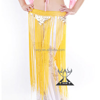 Belly Dance Indian Dance Sequins Fringed Hip Scarf Waist Chain