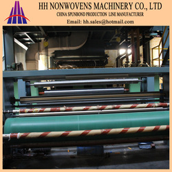 2015 hot sell 3200mm S pp spunbond nonwoven fabric machine for shopping bag/face mask/diaper