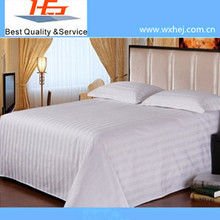 Fancy Poly cotton Material Bed Sheet Flat Sheet