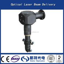 Optical laser beam delivery/laser welding head for laser welding machine