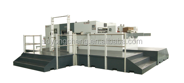 YC1650QX Chinese wide format automatic paperboard die cutting machine