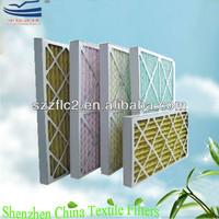 HVAC Pleat furnace panel air filter