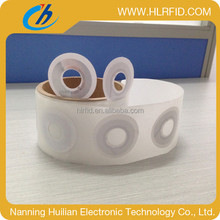 ISO14443A nfc ring tag rfid sticker rolls on discount sale