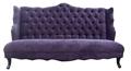 atacado real italiana de design de asa traseira do sofá estofado