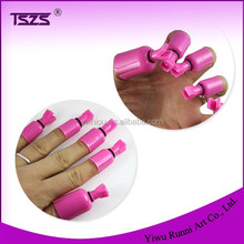 10 pcs New Acrylic Manicure Nail Art Soak Off UV Gel Polish Remover Wrap Clip