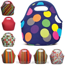 Fashion Thermal Cooler Bag Promotional Neoprene lunch tote bag