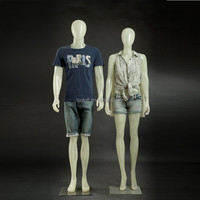Brand new clothing display male transparent mannequin translucent mannequin dummy model mannequin