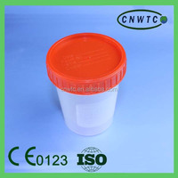 120ml sterile stool container with screw cap
