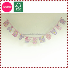 Baby shower party banner For home Celebration