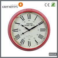 decor shabby chic antique vintage wall clock for home decor