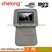 New arrived 7inch new panel car 7 inch tft lcd quad monitor
