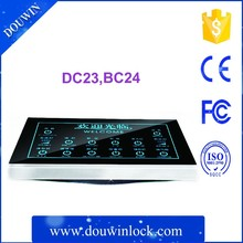 Hotel room lighting control system including light control box and small controller