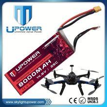 Upower 14.8v lithium polymer rc lipo battery for UAV drone multirotor RC model