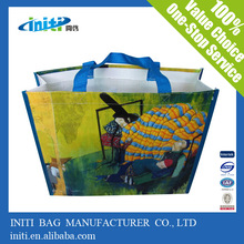 Recyclable laminated Bag | China tote pp woven shopping bag