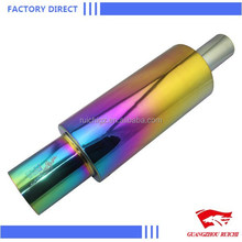 Hot Selling Accessory for Universal Car Auto Stainless Steel Exhaust Pipe Muffler