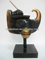 decorative bull head for office decor&business gift