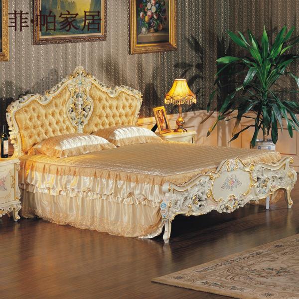 European Luxury Bedroom: Classic Italian Antique Bedroom Furniture- Bedroom